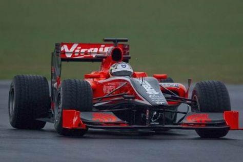 Timo Glock durfte am Donnerstag die ersten Runden mit dem VR-01 drehen