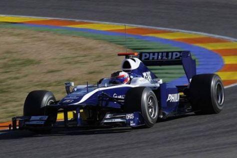 Der Cosworth CA2010 lief im Heck des Williams bislang ohne Probleme
