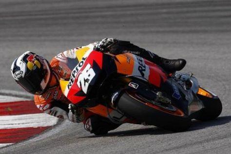 Dani Pedrosa und das Honda-Werksteam stürzen sich in die neue Rennsaison