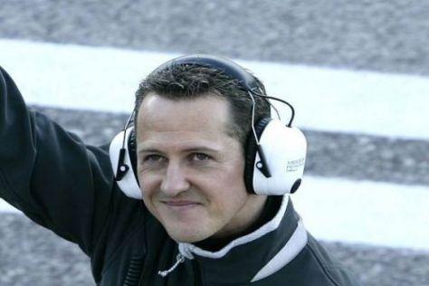 Michael Schumacher wird schon in dieser Woche wieder im Mercedes sitzen