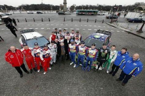 Auf die Teams und Piloten warten 2010 in der WRC einige neue Regeln