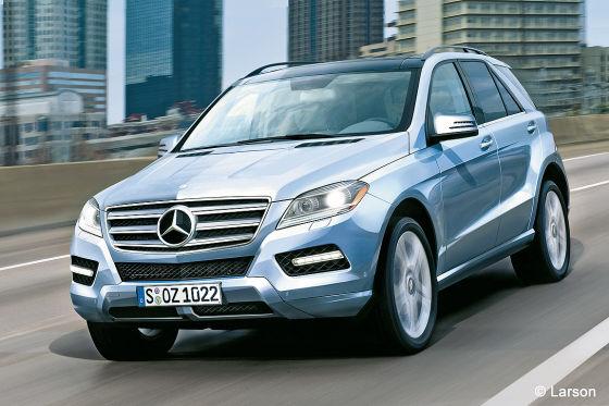 Erlkönig Mercedes M-Klasse