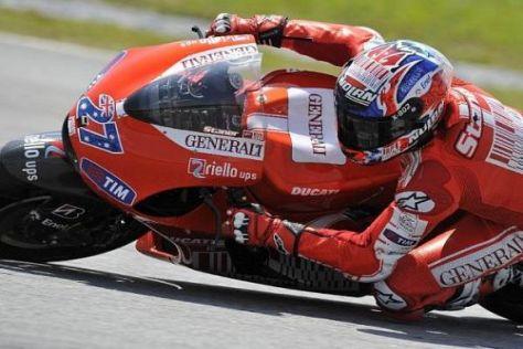 Casey Stoner sieht den Vorteil von Yamaha als nicht so gravierend an