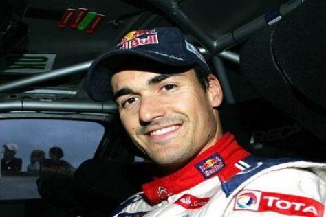 Daniel Sordo kann strahlen: Citroën gewährt dem Spanier vorerst freie Fahrt