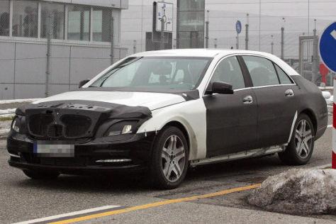 Mercedes S-Klasse Erlkönig (W222)