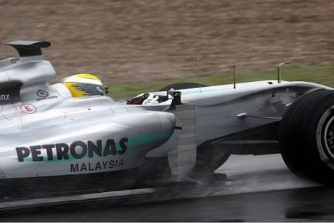 Bestzeit für Nico Rosberg: Der Deutsche nutzte die Bedingungen am besten