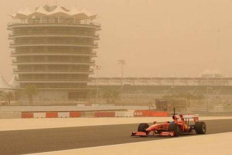 Seit 2009 wissen die Teams, dass Bahrain-Tests auch nicht immer ideal sind