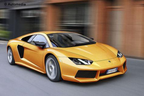 Erlkönig Lamborghini Jota