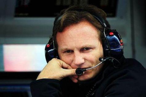 Christian Horner und Red Bull geben in der Saisonvorbereitung stets Vollgas