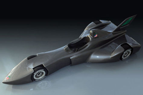 DeltaWing IndyCar Concept
