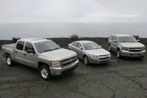 Olympia-Flotte von GM für Vancouver 2010