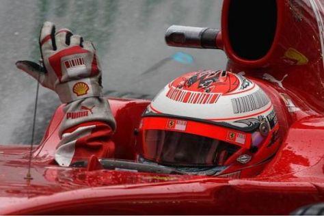 Zu schwer - KERS erwies sich für Kimi Räikkönen als Klotz am Bein