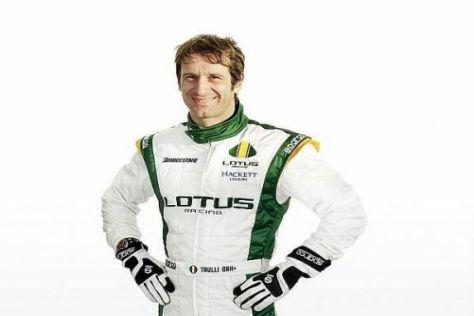 Jarno Trulli will Lotus von seiner reichen Formel-1-Erfahrung profitieren lassen