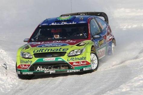 Mikko Hirvonen geht mit einem Vorsprung in den letzten Tag in Schweden