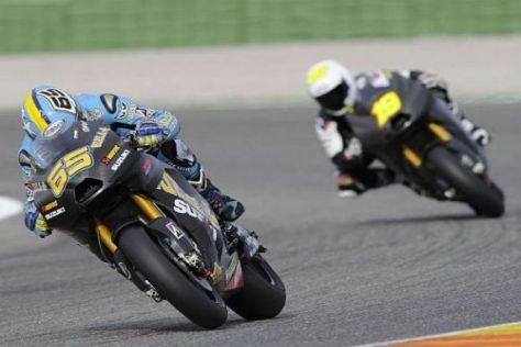 Loris Capirossi und Alvaro Bautista sollen 2010 auf das MotoGP-Podium fahren