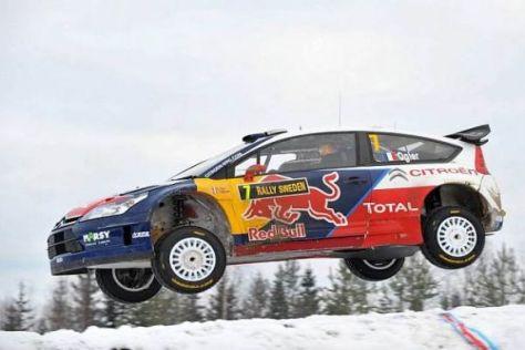 Auf dem Sprung zu einer großen Karriere? Überflieger Sébastien Ogier in Schweden