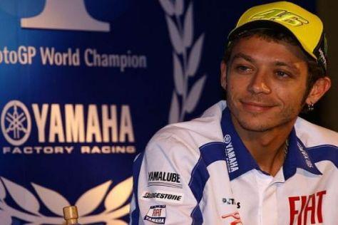 Valentino Rossi ist fest entschlossen, die Nummer eins zu bleiben