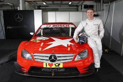 David Coulthard zeigte sich beeindruckt von der Performance der C-Klasse