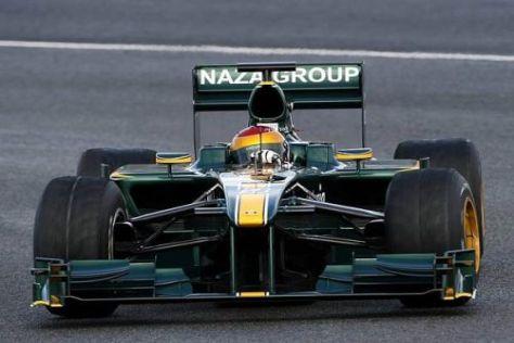 Ein weiteres Zwischenziel ist erreicht: Der Lotus T127 wird derzeit in Jerez getestet
