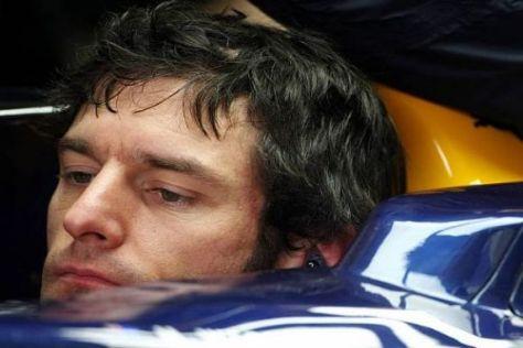 Mark Webber geht demnächst in seine neunte Formel-1-Saison