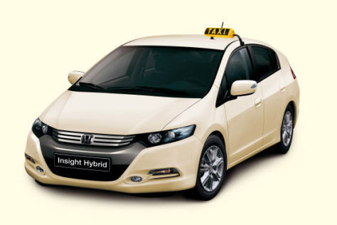 Honda Insight Hybrid Taxi