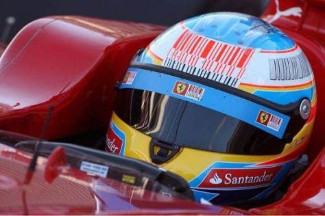 Fernando Alonso gibt sich nach den ersten F10-Testfahrten vorsichtig optimistisch