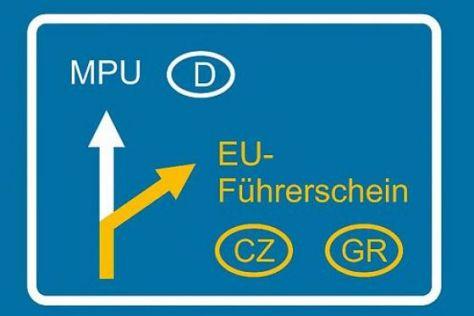 Führerschein-Tourismus: Neues Urteil