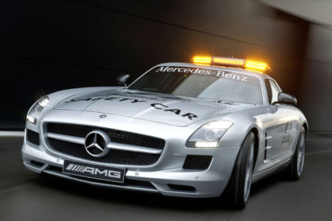 Mercedes-Benz SLS AMG Safety Car Formel 1 2010