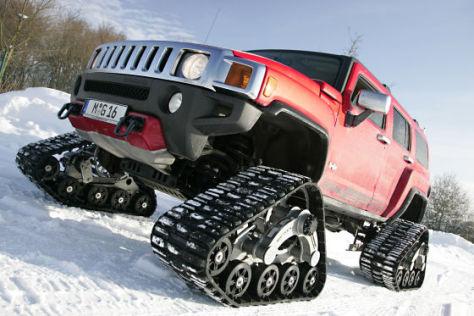 Geiger Cars Hummer H3 Raupen-Hummer
