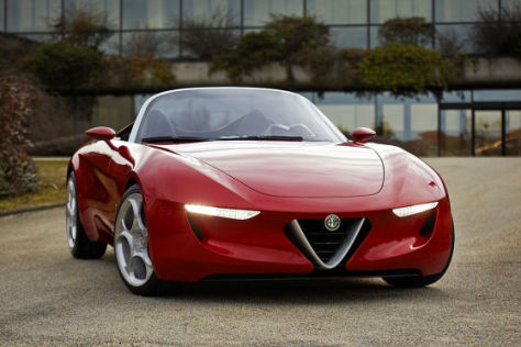 Alfa Romeo Concept (Duettottanta) von Pininfarina