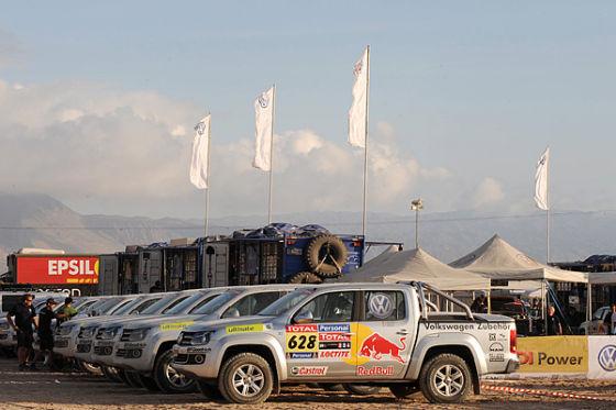 VW Amarok Rallye Dakar