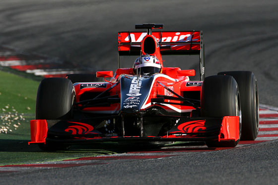 Timo Glock Virgin Racing