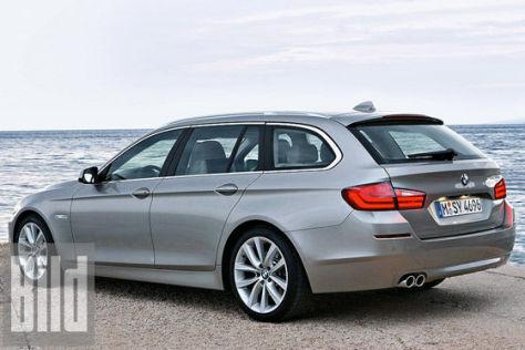 BMW 5er Touring: Erste Bilder