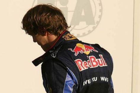 Enttäuscht: Sebastian Vettel hätte sich heute 25 Punkte verdient gehabt