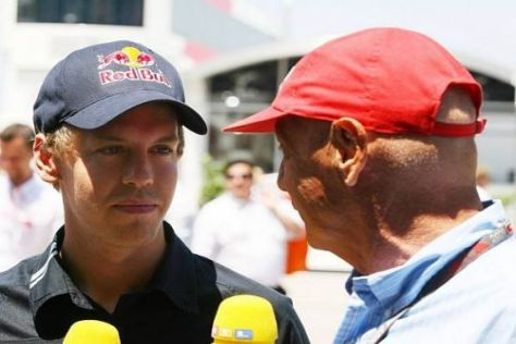 Für Niki Lauda wäre Sebastian Vettel der verdiente Sieger gewesen