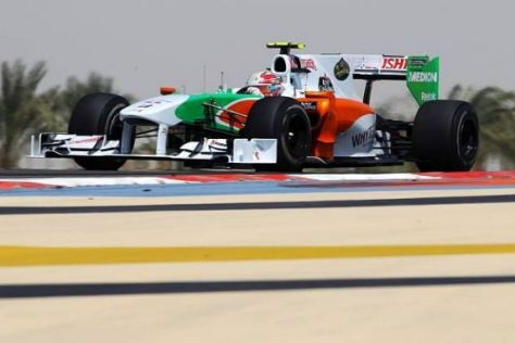 Vitantonio Liuzzi fuhr beim ersten Saisonrennen in die Punkte