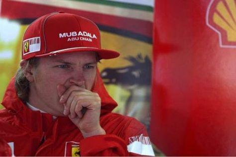 Kimi Räikkönen hat sich in der Formel 1 zuletzt nur noch gelangweilt
