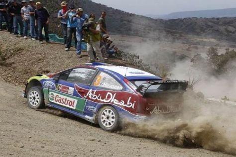 Mikko Hirvonen und Ford kamen in Mexiko einfach nicht auf das nötige Tempo