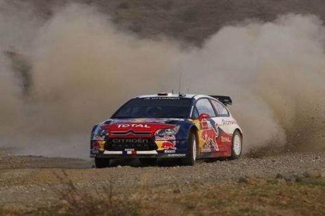 Sébastien Loeb trennen nur noch rund 50 Kilometer vom Mexiko-Sieg