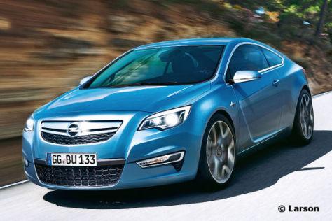 Opel Manta (Illustration)