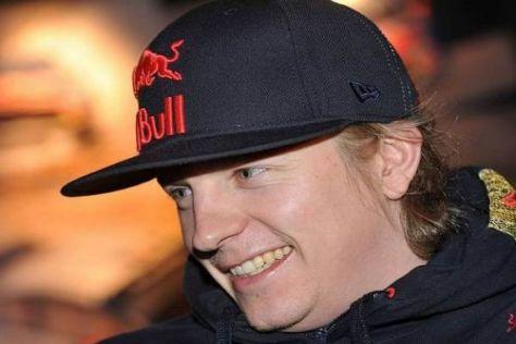 Herr Räikkönen sucht das Glück und findet es: Der Finne hat Spaß in der WRC
