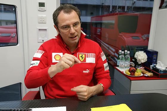 Stefano Domenicali, Teamchef Ferrari