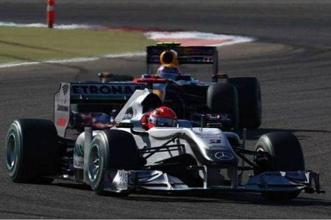 Michael Schumacher holte bei seiner Rückkehr in die Formel 1 gleich Punkte