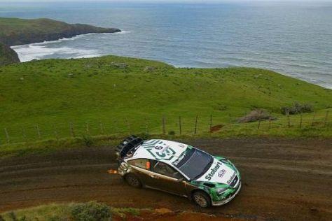 Die Rallye Neuseeland bietet immer wieder schöne Bilder