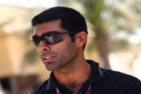 Karun Chandhok kommt mit wenig Formel-1-Erfahrung zum zweiten Grand Prix