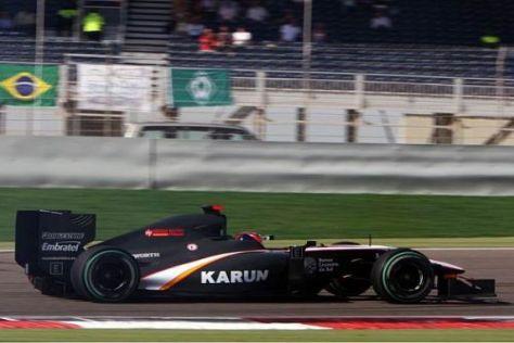 Große Ziele: Karun Chandhok will sich in der Formel 1 rasch einen Namen machen
