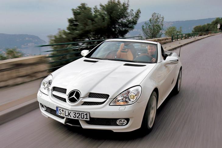 Mercedes Slk  Kompressor Sprit