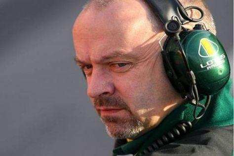 Mike Gascoyne wirkt bei Lotus so ausgeglichen wie schon lange nicht mehr