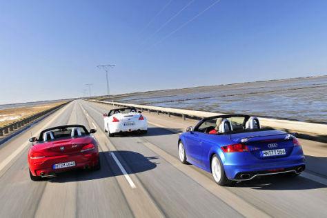 Audi TT RS BMW Z4 Nissan 370Z