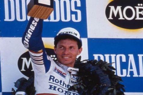 Eddie Lawson gewann 1989 auf Honda seinen vierten WM-Titel